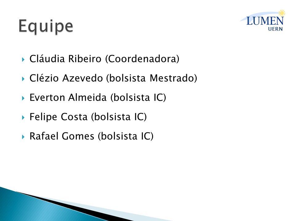 Equipe Cláudia Ribeiro (Coordenadora)