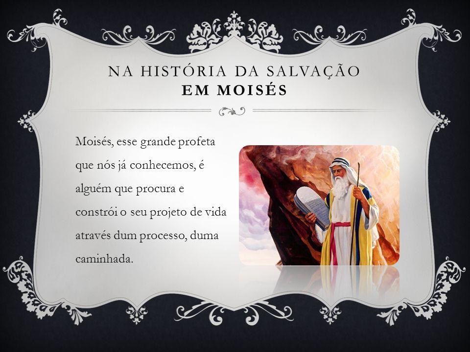 Na História da Salvação Em Moisés