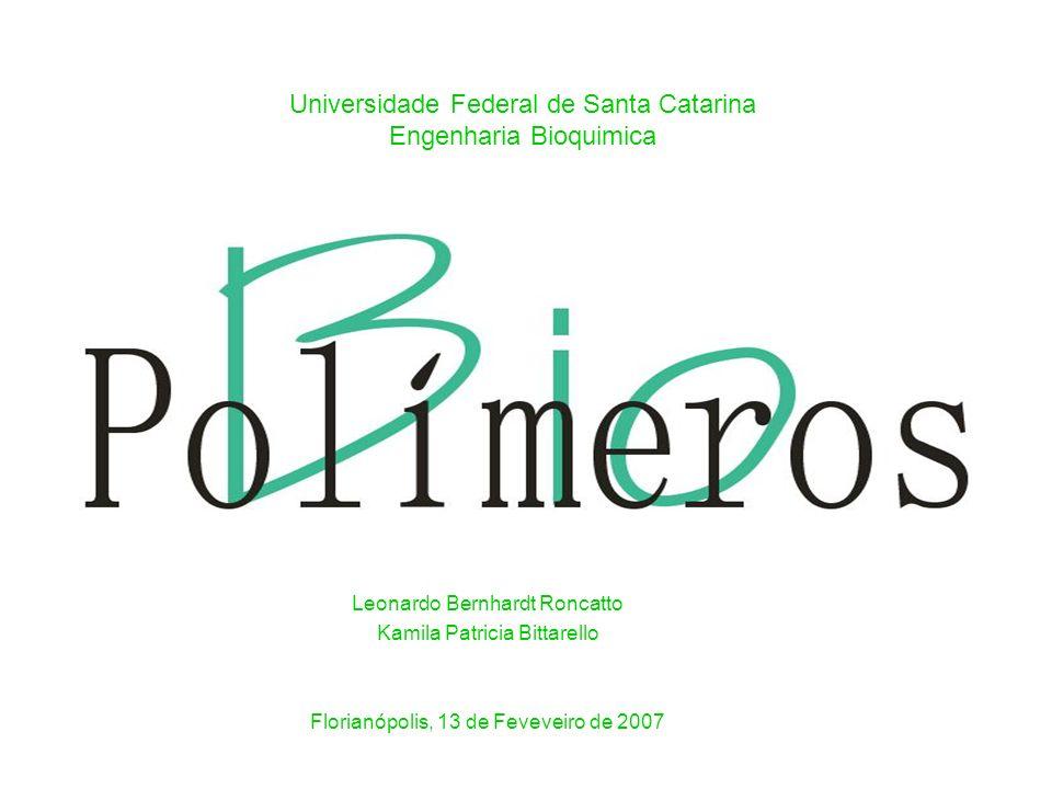 Universidade Federal de Santa Catarina Engenharia Bioquimica