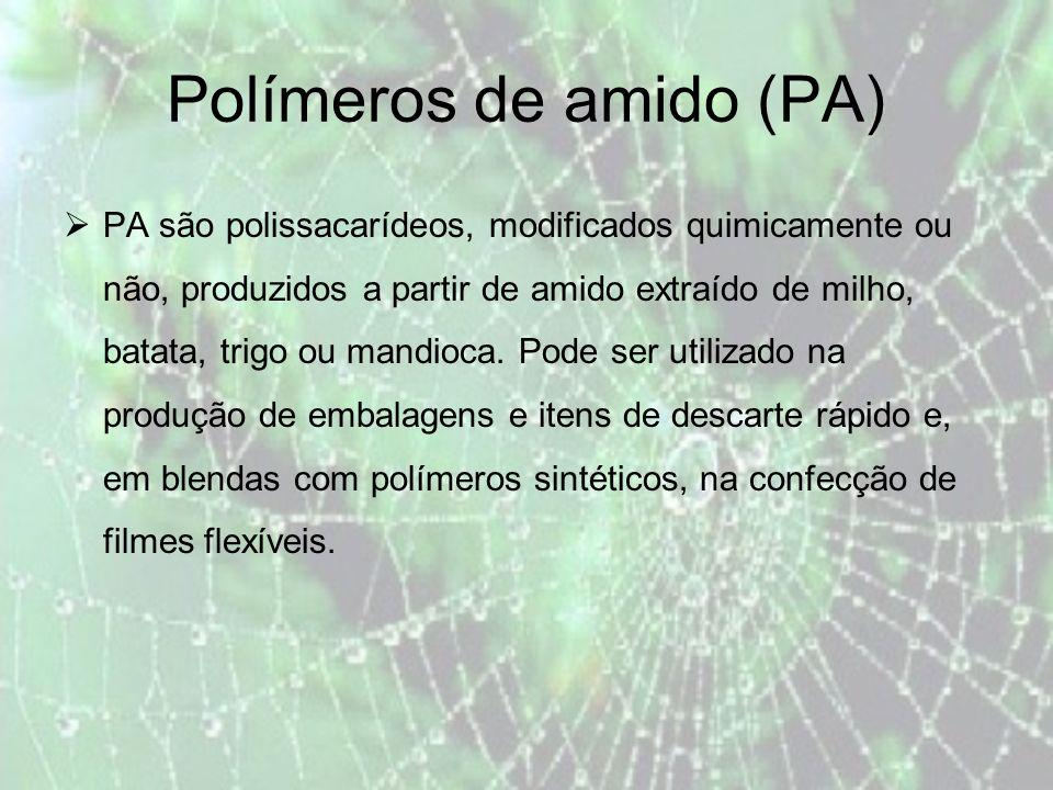 Polímeros de amido (PA)