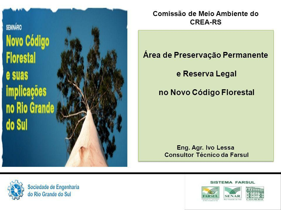 Área de Preservação Permanente e Reserva Legal