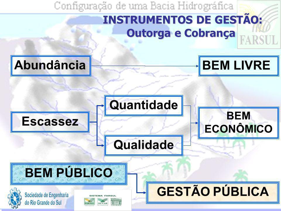 INSTRUMENTOS DE GESTÃO: