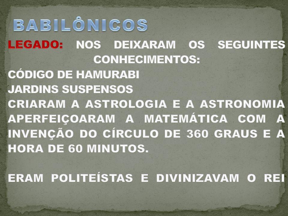 BABILÔNICOS
