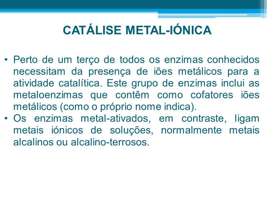 CATÁLISE METAL-IÓNICA