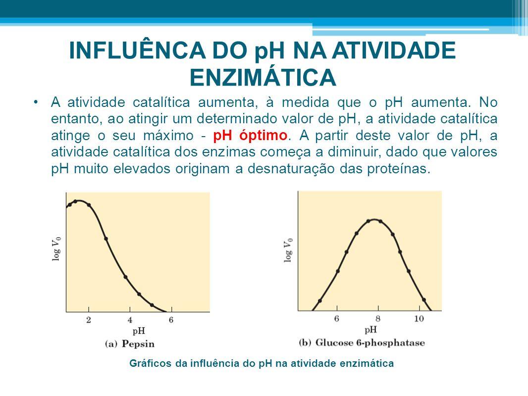 INFLUÊNCA DO pH NA ATIVIDADE ENZIMÁTICA