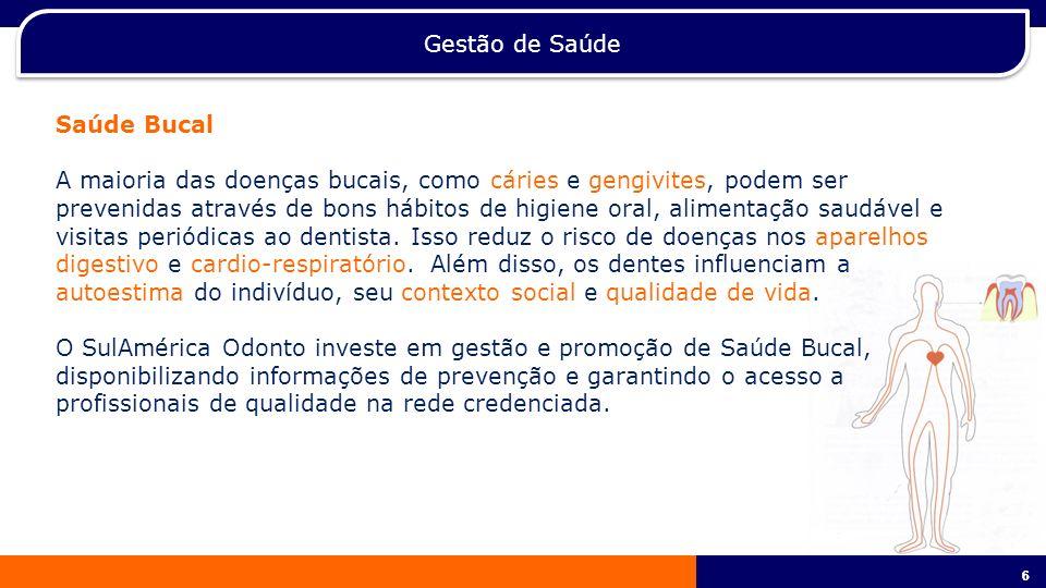 Gestão de Saúde Saúde Bucal.