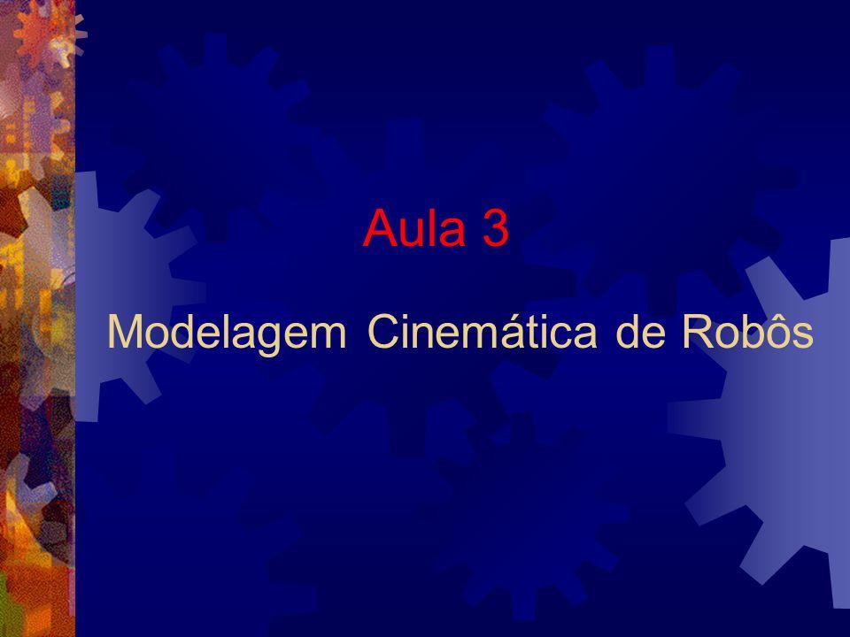 Modelagem Cinemática de Robôs