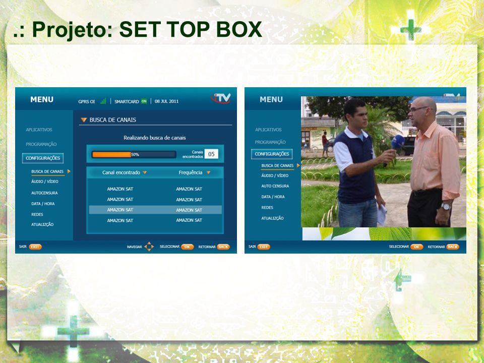 .: Projeto: SET TOP BOX