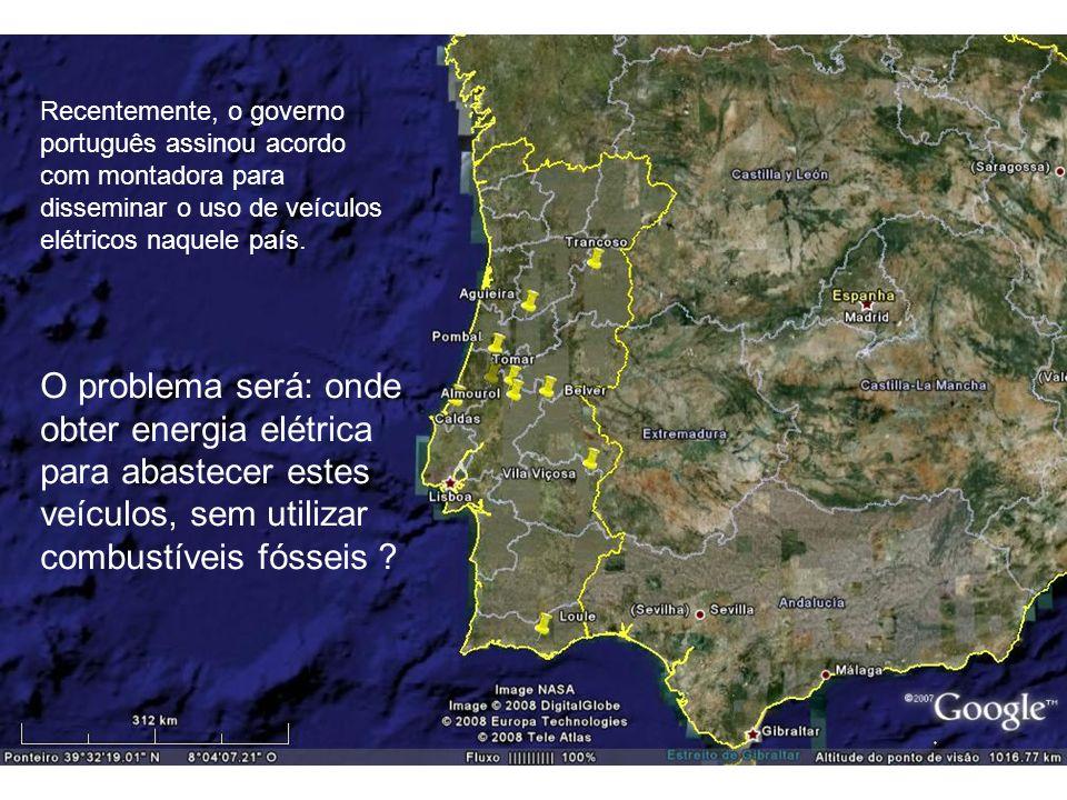 Recentemente, o governo português assinou acordo com montadora para disseminar o uso de veículos elétricos naquele país.