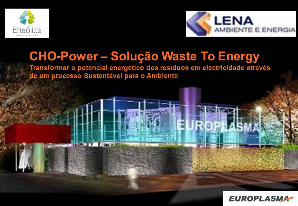 CHO-Power – Solução Waste To Energy
