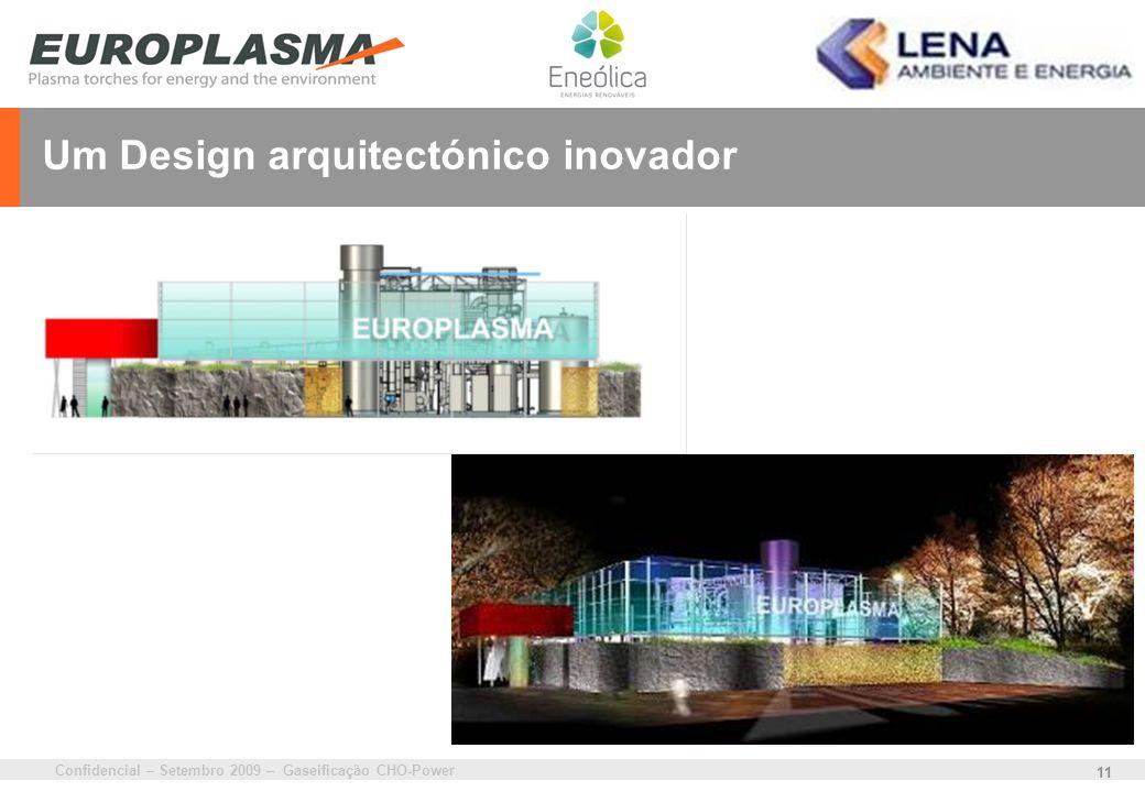 Um Design arquitectónico inovador