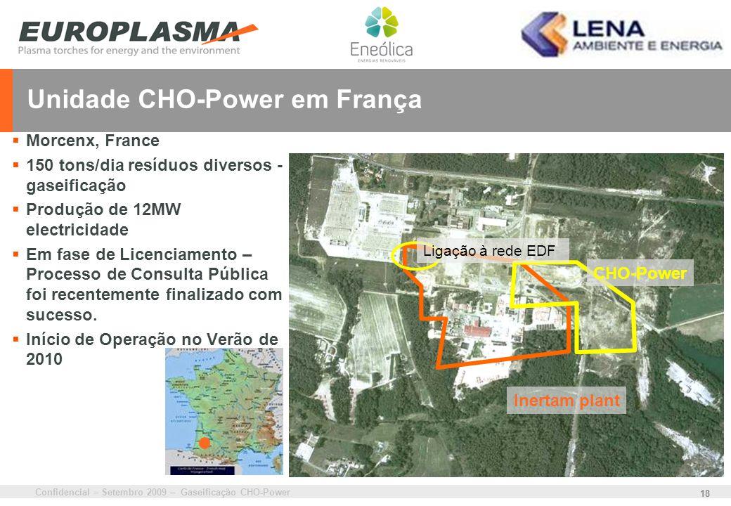 Unidade CHO-Power em França