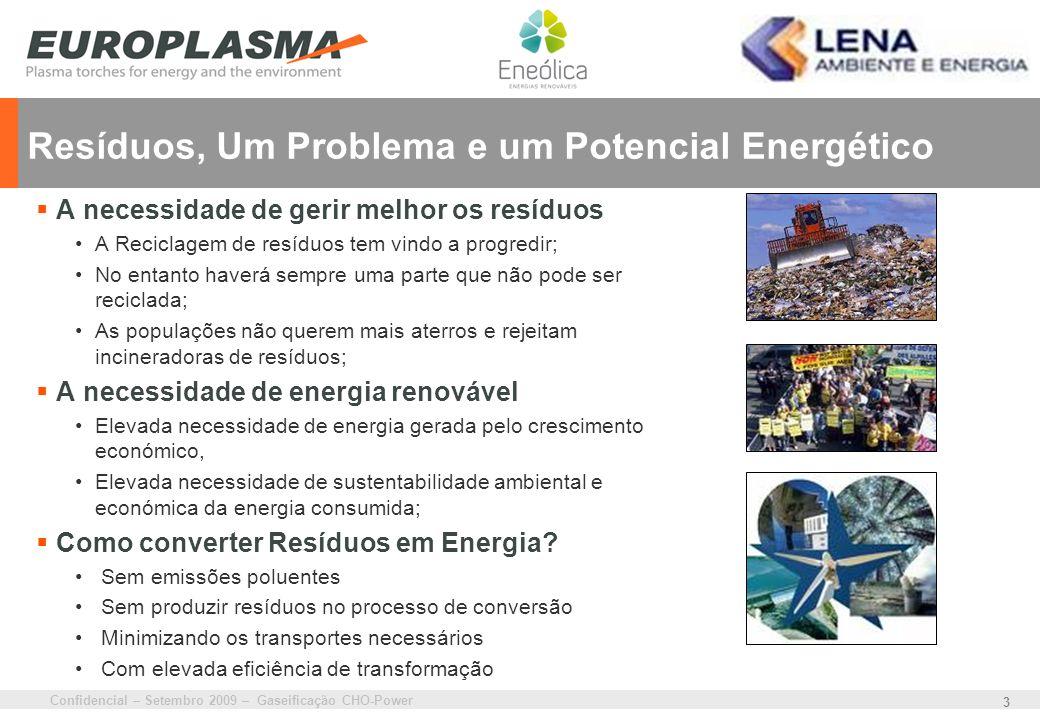 Resíduos, Um Problema e um Potencial Energético