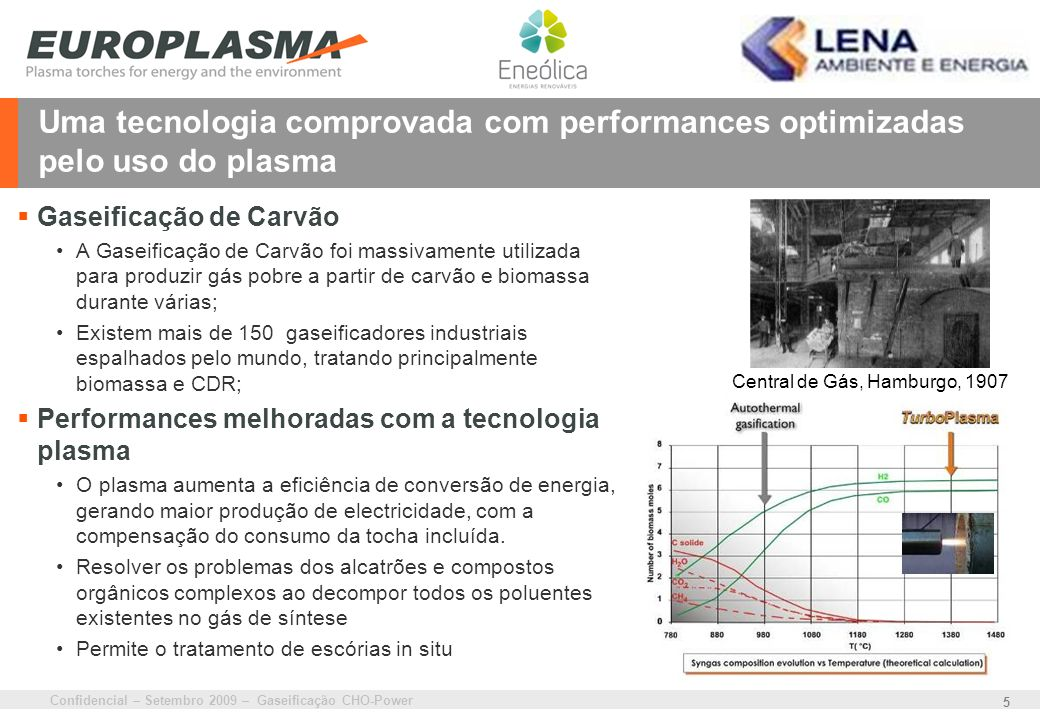 Uma tecnologia comprovada com performances optimizadas pelo uso do plasma