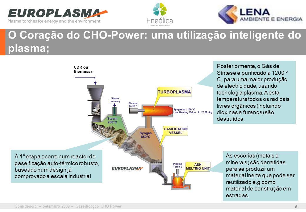 O Coração do CHO-Power: uma utilização inteligente do plasma;