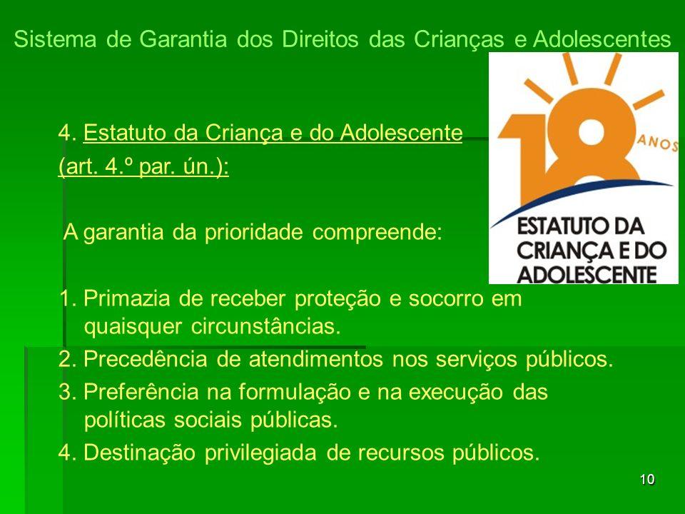 Sistema de Garantia dos Direitos das Crianças e Adolescentes