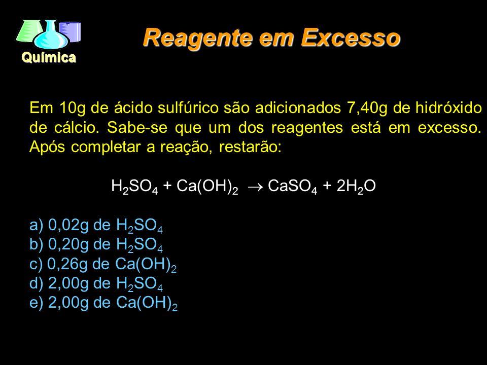 Reagente em Excesso