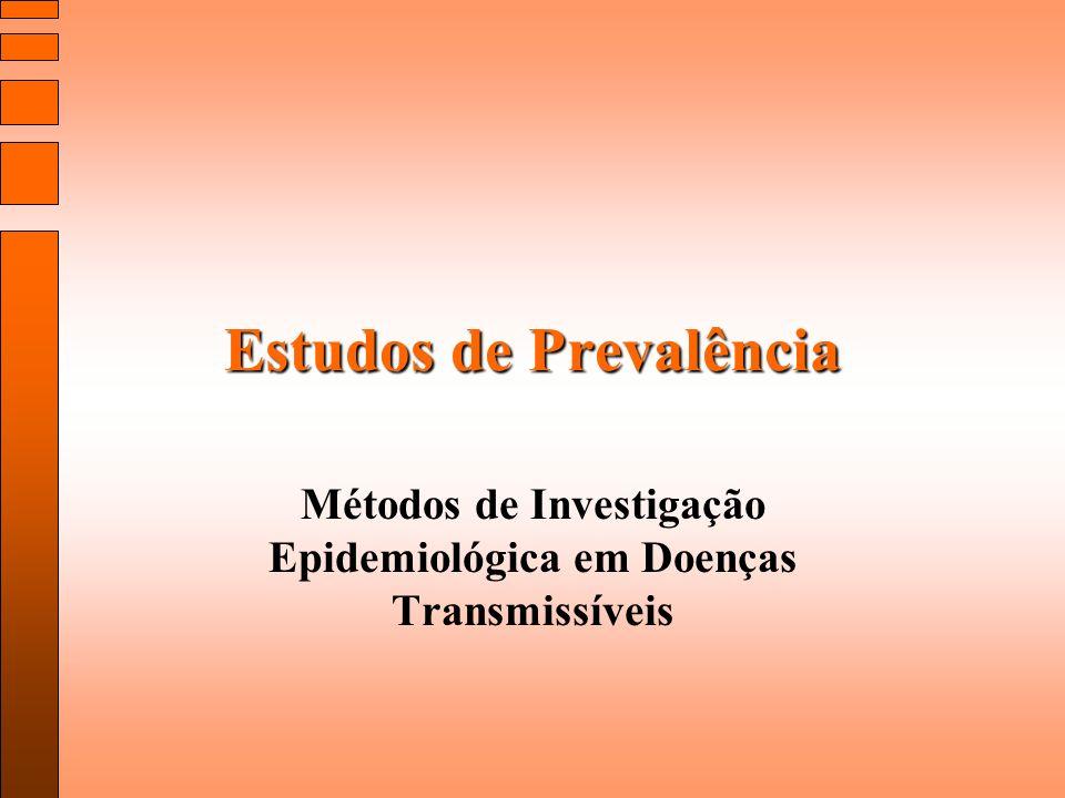 Estudos de Prevalência