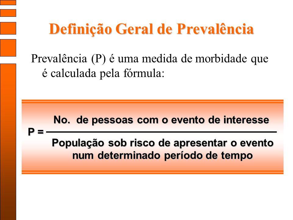 Definição Geral de Prevalência