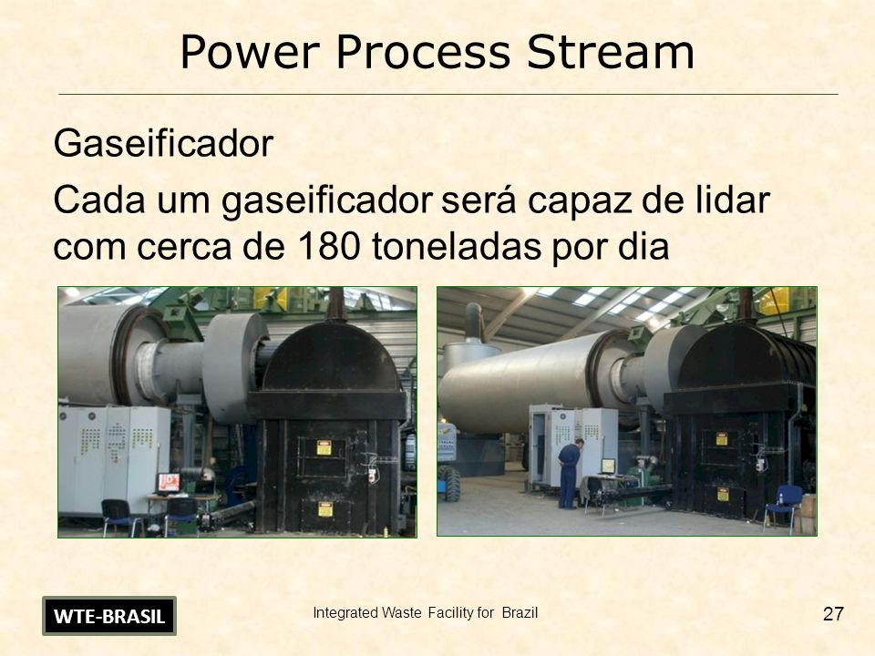 Power Process Stream Gaseificador