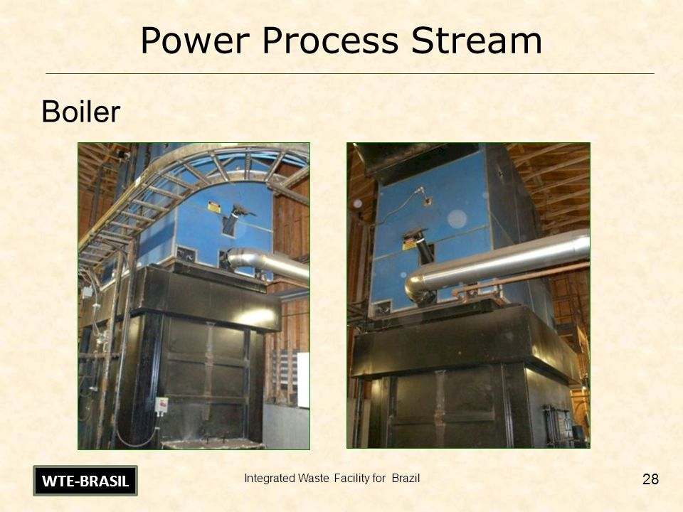 Power Process Stream Boiler WTE-BRASIL
