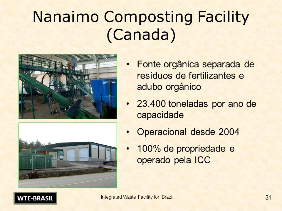 Nanaimo Composting Facility (Canada)