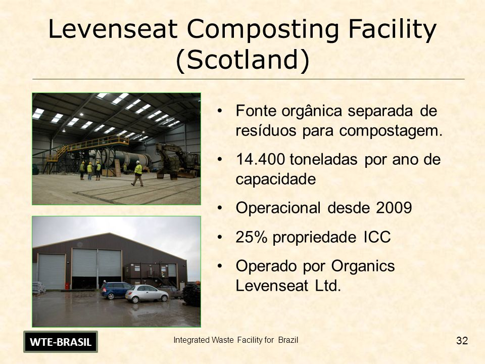 Levenseat Composting Facility (Scotland)