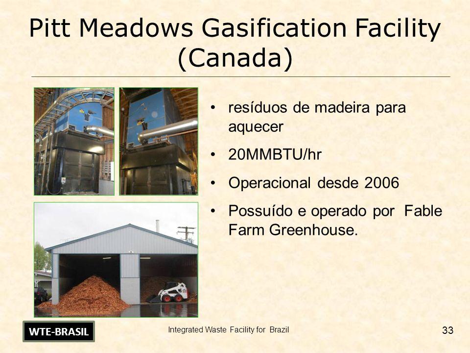 Pitt Meadows Gasification Facility (Canada)