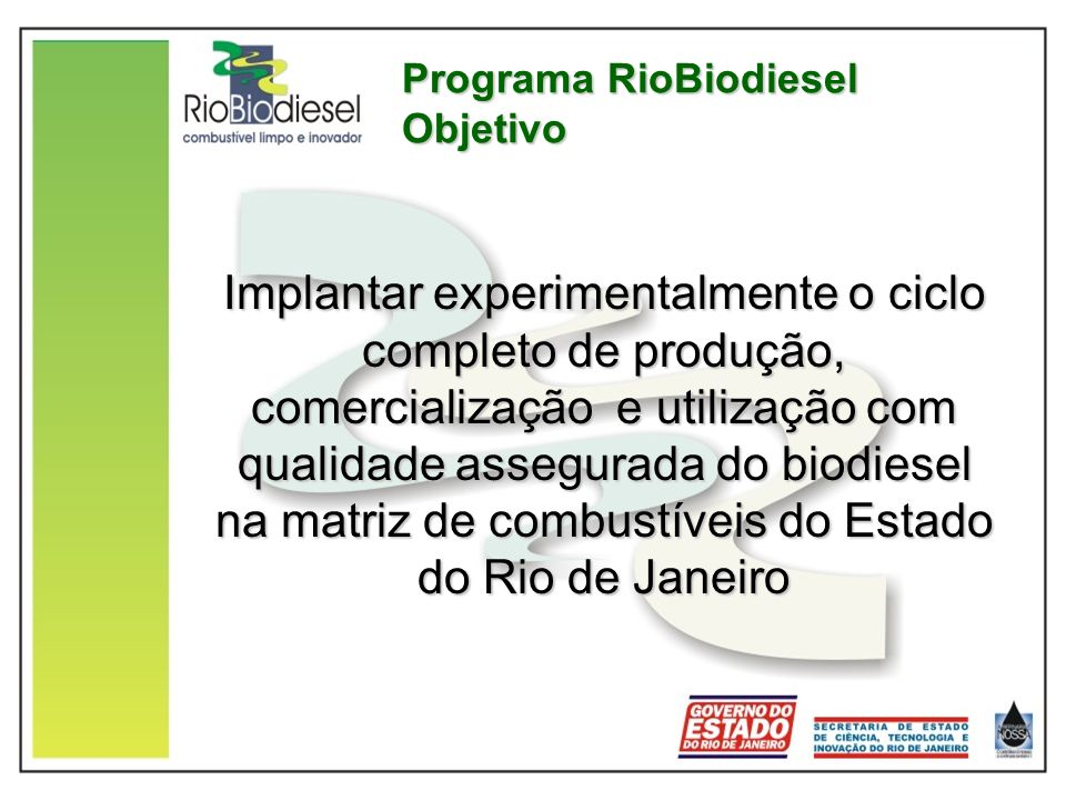 Programa RioBiodiesel