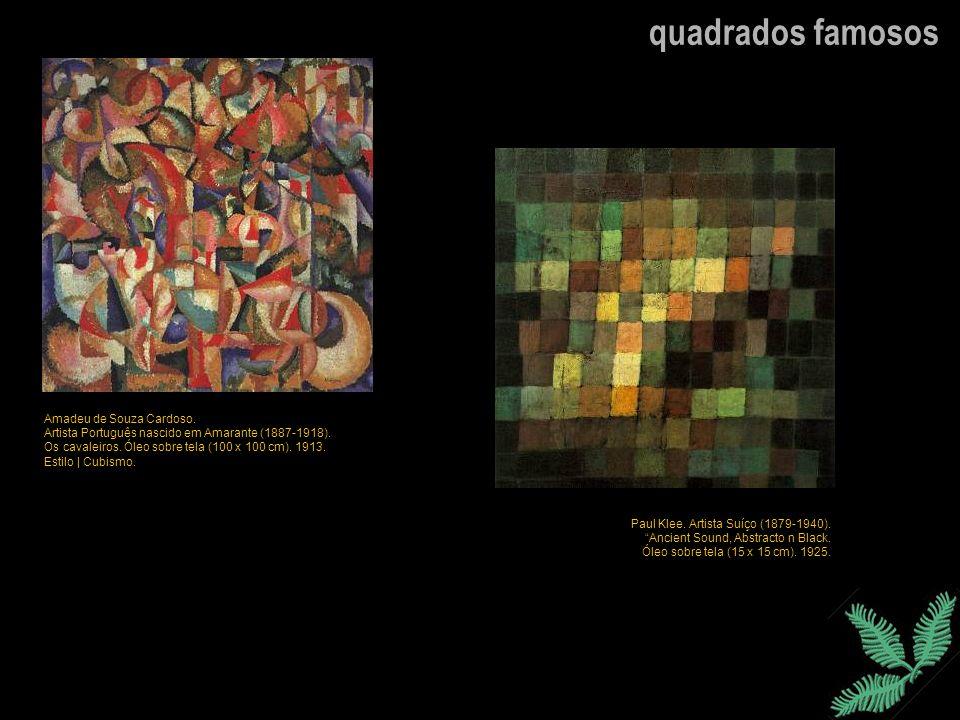 quadrados famosos Amadeu de Souza Cardoso.