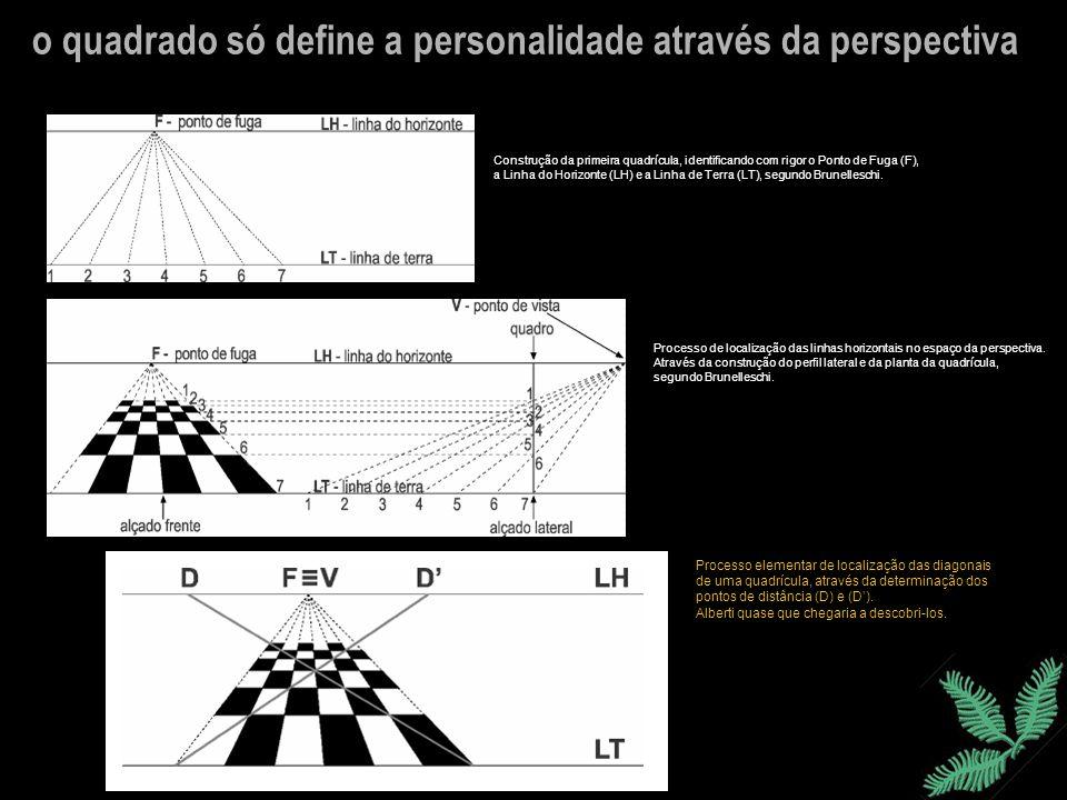 o quadrado só define a personalidade através da perspectiva
