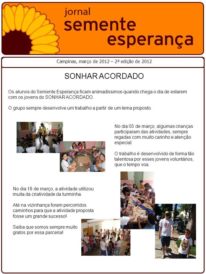 Campinas, março de 2012 – 2ª edição de 2012