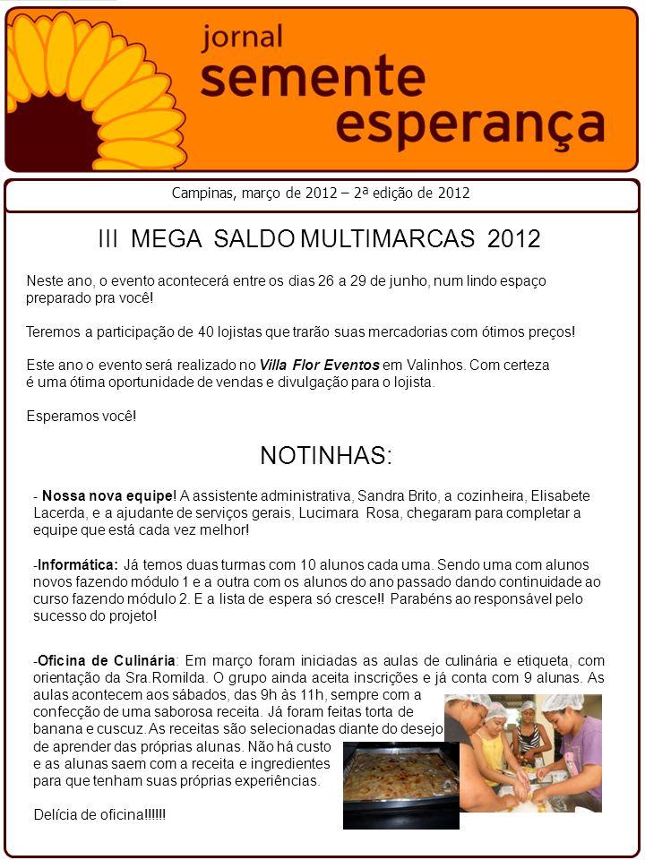 III MEGA SALDO MULTIMARCAS 2012