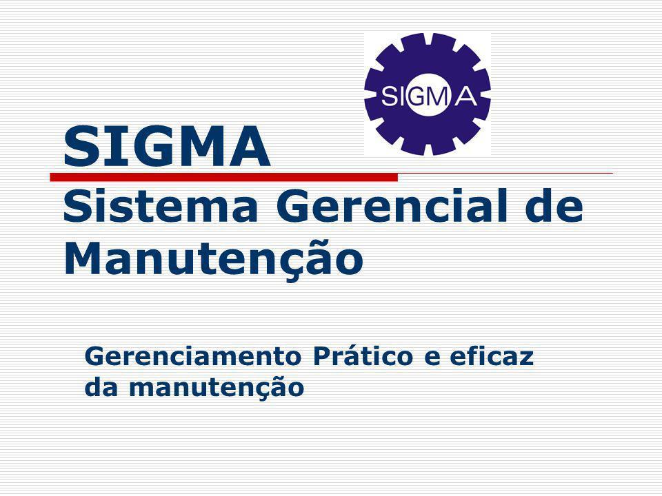 SIGMA Sistema Gerencial de Manutenção