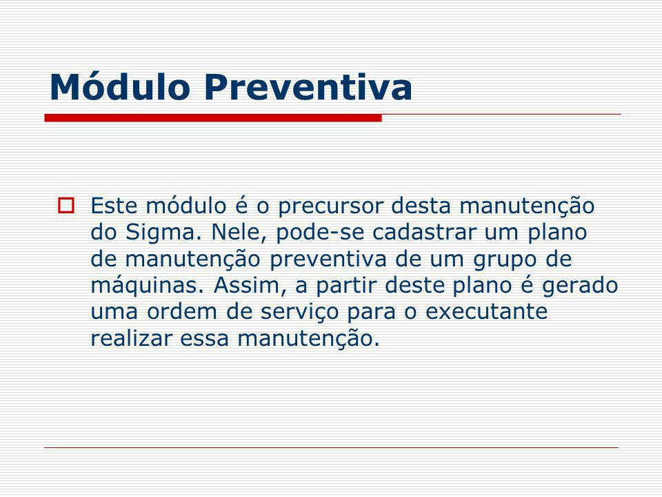 Módulo Preventiva