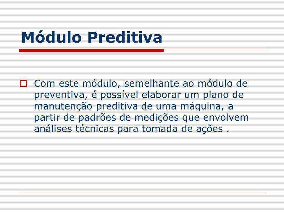 Módulo Preditiva