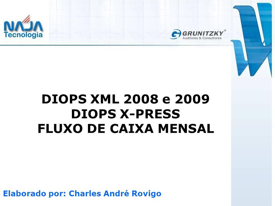 DIOPS X-PRESS FLUXO DE CAIXA MENSAL