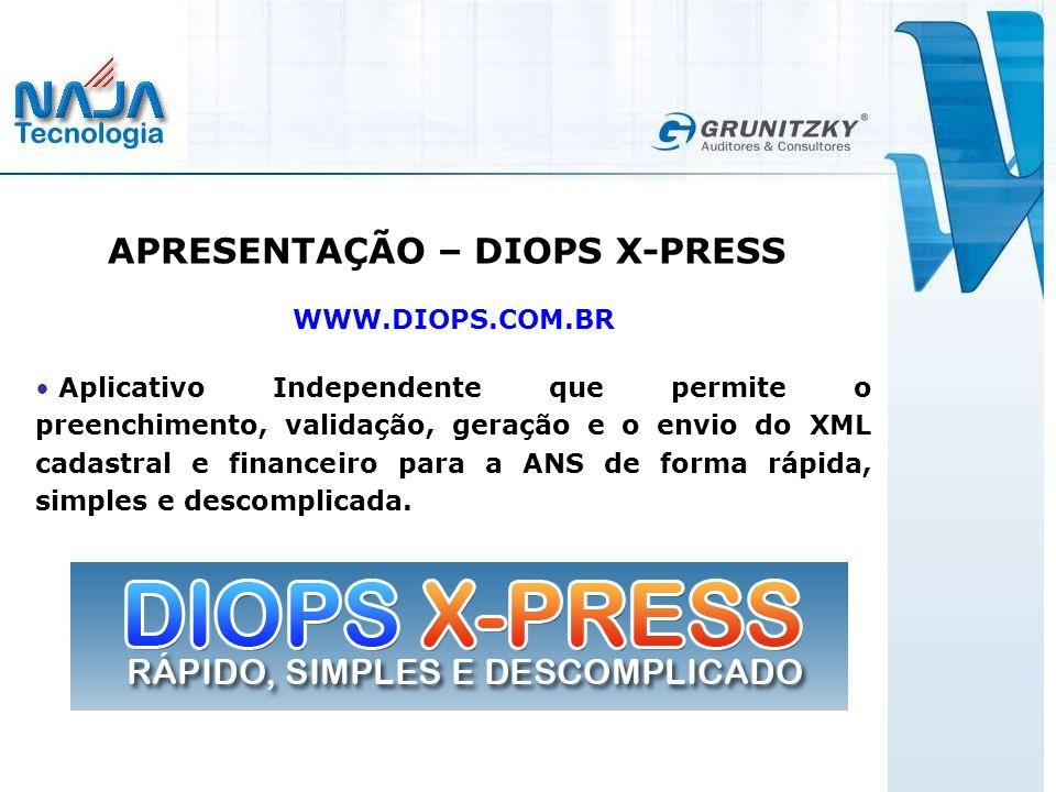 APRESENTAÇÃO – DIOPS X-PRESS