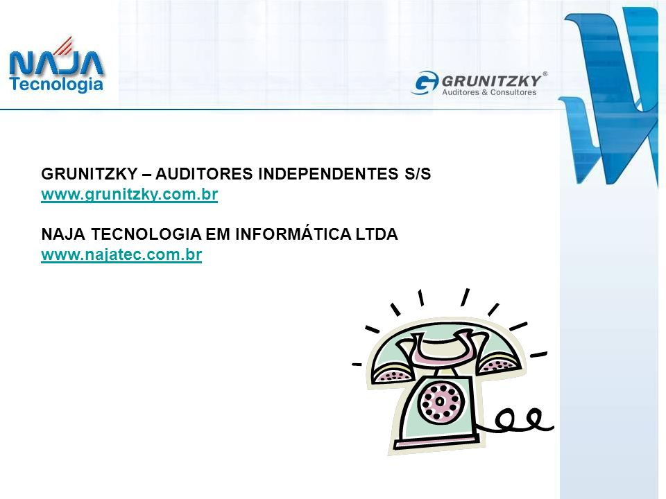 GRUNITZKY – AUDITORES INDEPENDENTES S/S