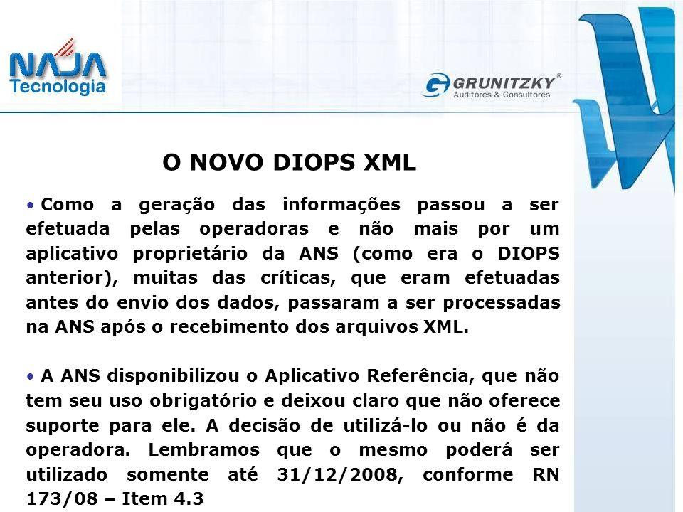 O NOVO DIOPS XML