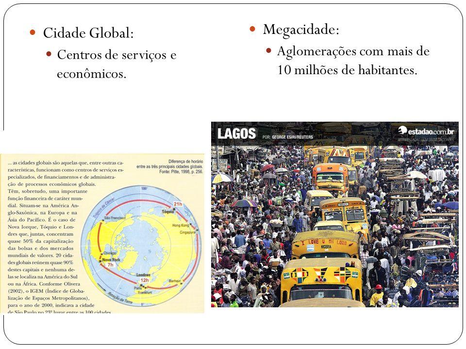 Megacidade: Cidade Global: