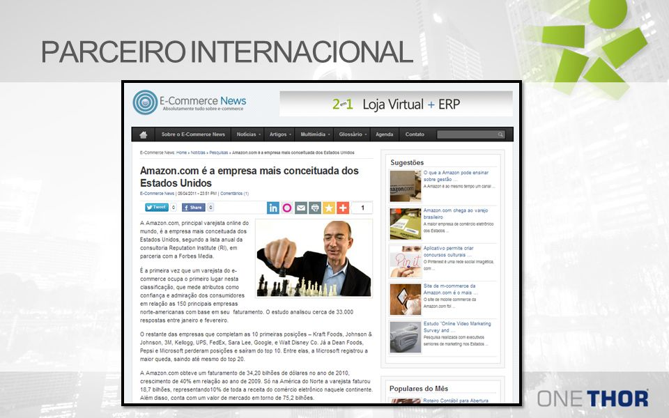 PARCEIRO INTERNACIONAL