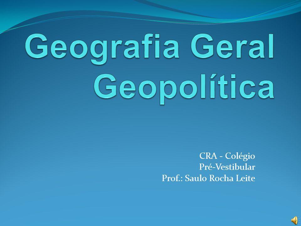 Geografia Geral Geopolítica
