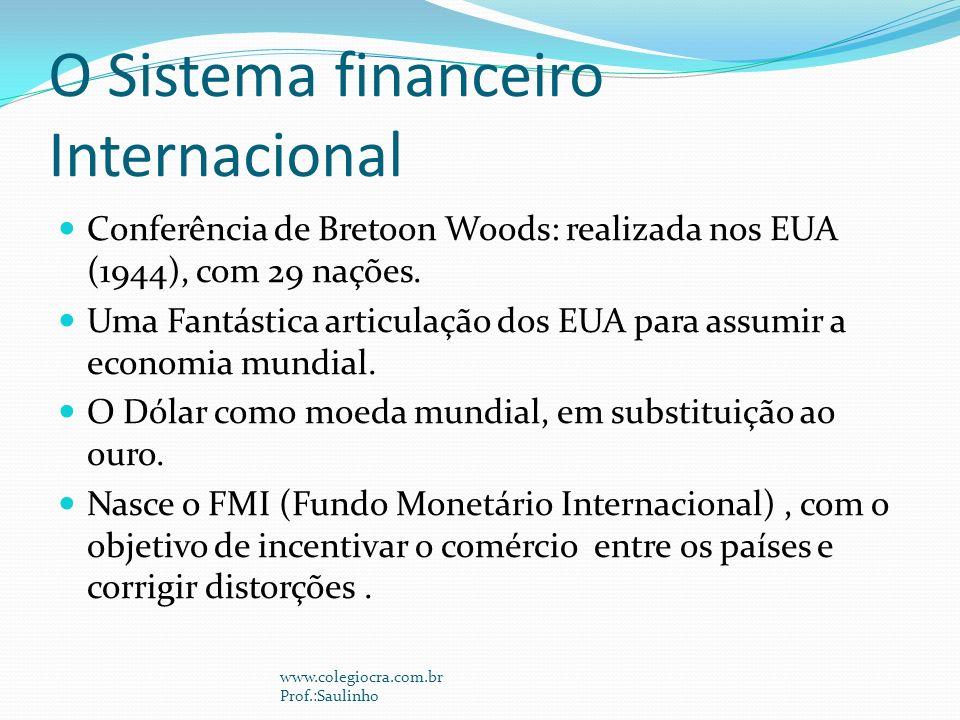 O Sistema financeiro Internacional