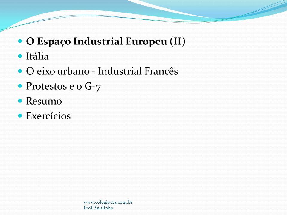 O Espaço Industrial Europeu (II) Itália