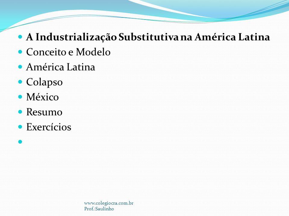 A Industrialização Substitutiva na América Latina Conceito e Modelo