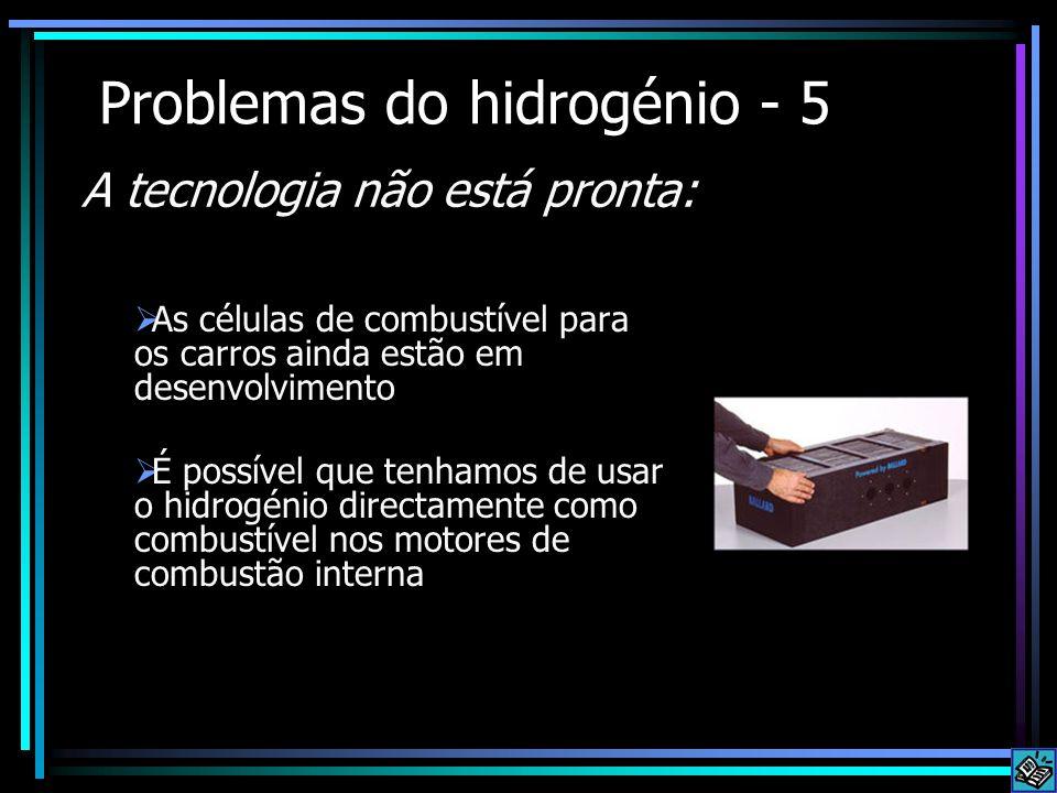 Problemas do hidrogénio - 5