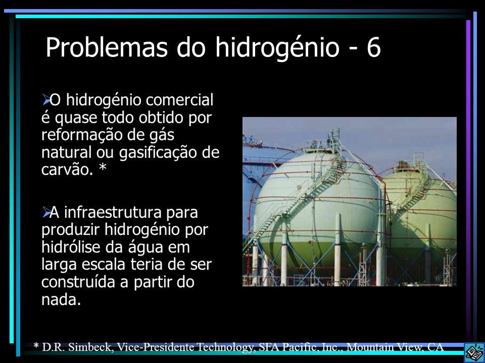 Problemas do hidrogénio - 6