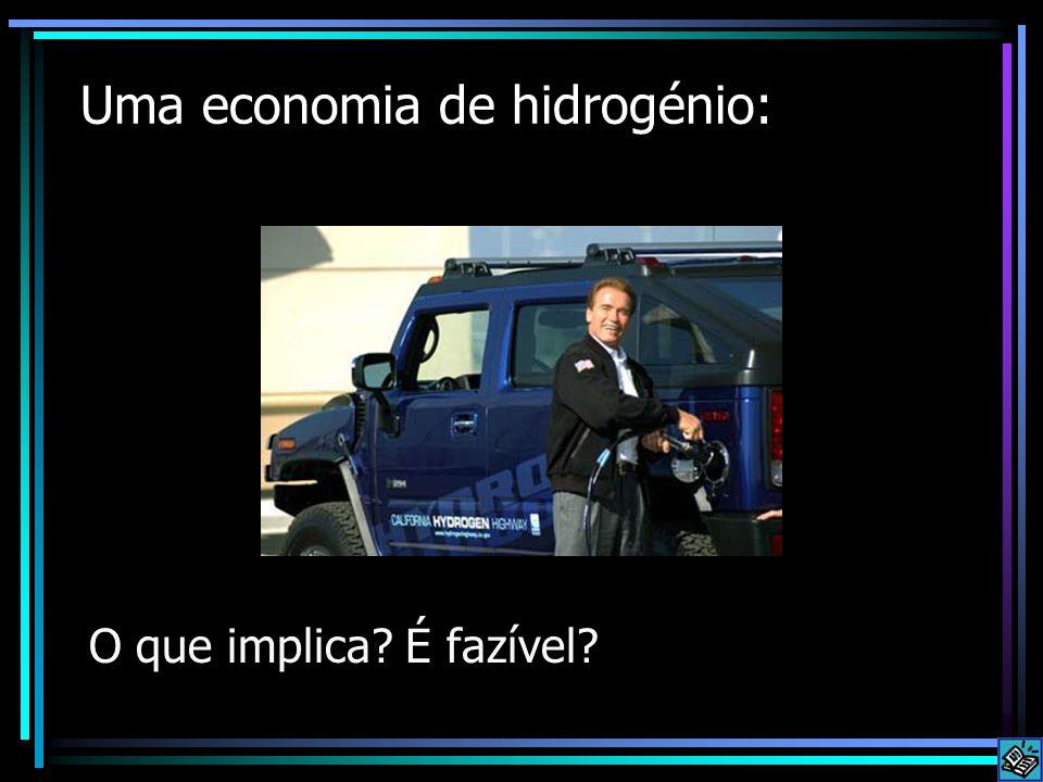 Uma economia de hidrogénio:
