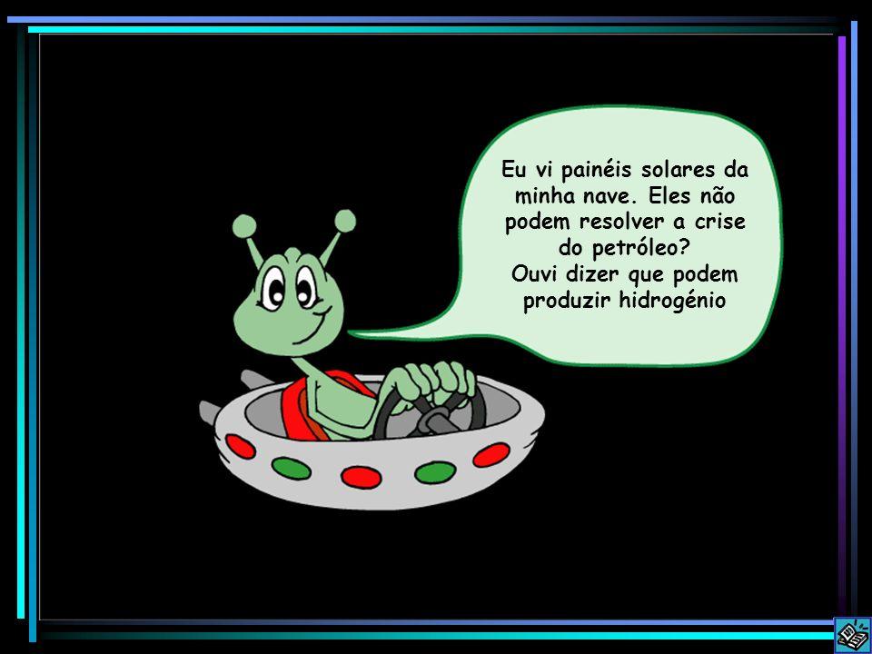 Ouvi dizer que podem produzir hidrogénio